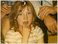 Sue aged 9