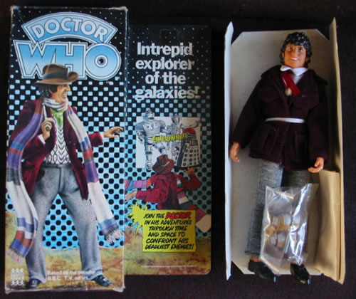 Denys Fisher Tom Baker/Gareth Hunt Doll