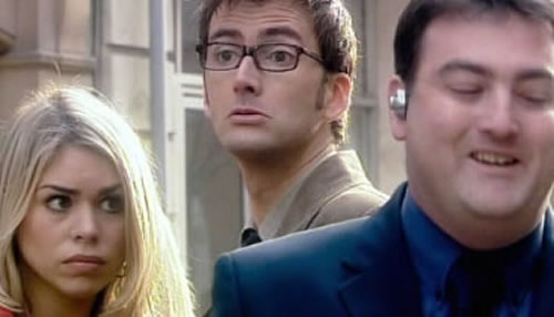 Friend appears in Doctor Who