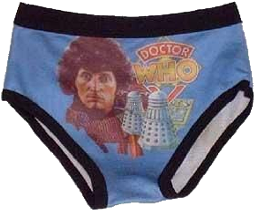 Doctor Who underpants