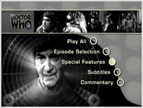 The Enemy of the World Lost in Time DVD Menu