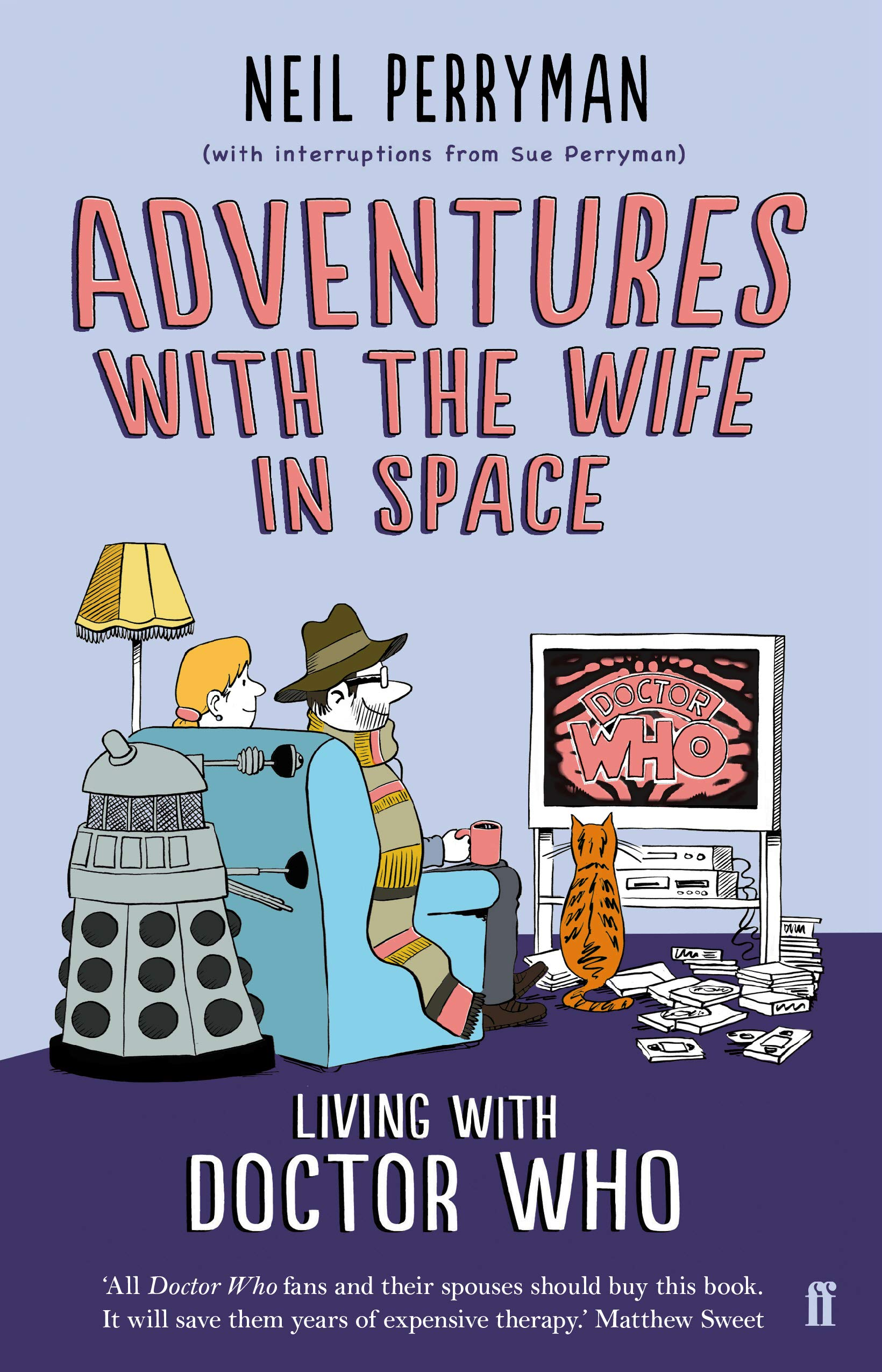 adventures with the wife in space book